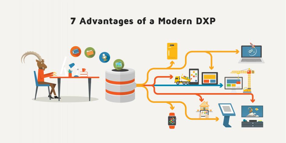 Sept avantages d'une DXP pour vos clients