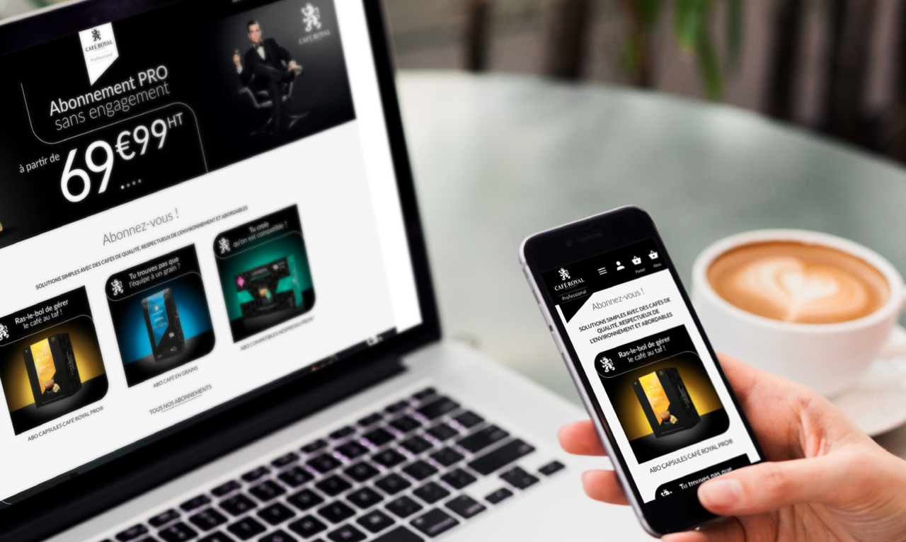 Content und Commerce: Café Royal Pro Customer Success Story
