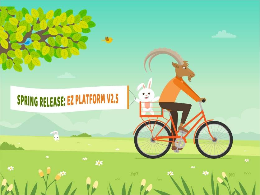 Spring Release: Discover eZ Platform v2.5