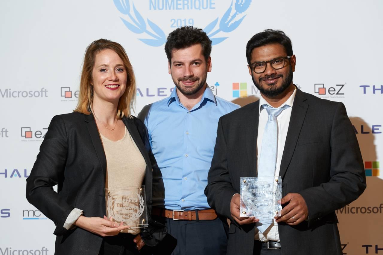 Groupe Atlantic et eZ récompensés aux Trophées de la Transformation Numérique 2019.