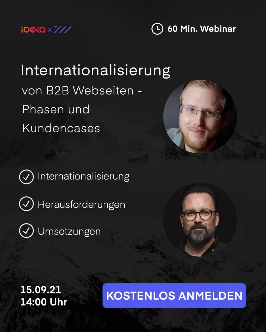 Internationalisierung von B2B Webseiten